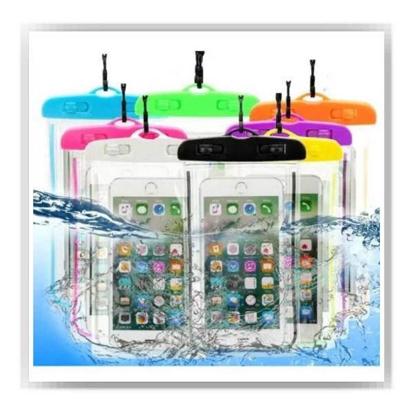 Capinha bag aquática para celular prova d'água universal
