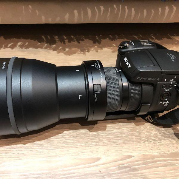 Câmera sony dsc r1 - foi a melhor de todas da era digital!