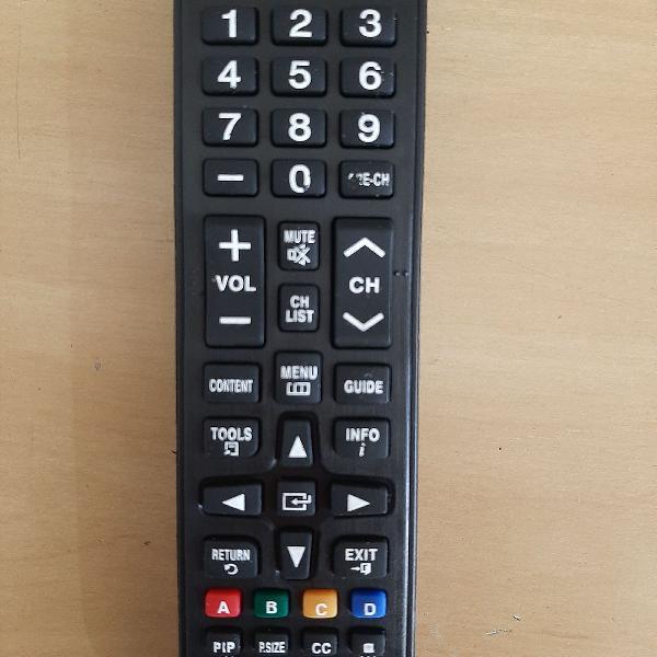 Controle remoto tv samsung lcd