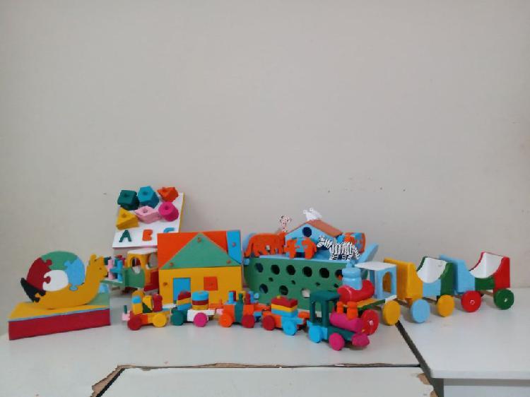 Dia das crianças!!: brinquedos educativos (em madeira pura)