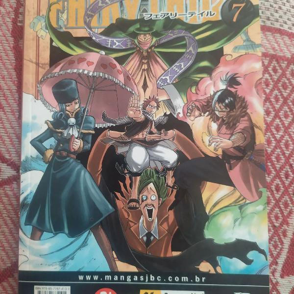Fairy tail 7 mangá