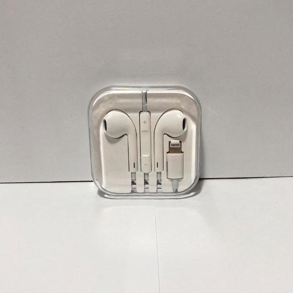 Fone de ouvido adaptador iphone 2 em 1 (carregador e