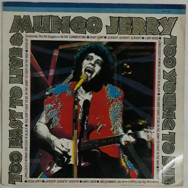 Lp mungo jerry too young to die
