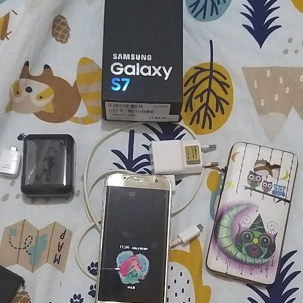 Smartphone Samsung Galaxy S7 completo