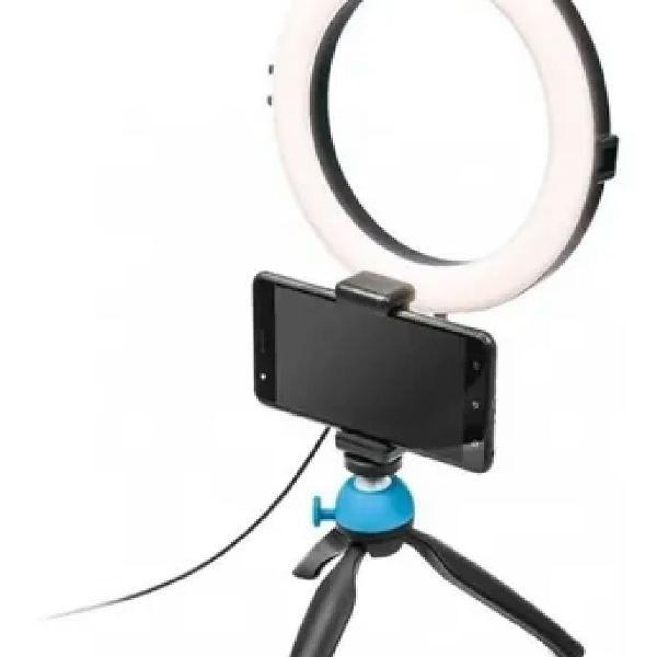 Tripe iluminador ring light led 16cm 6w