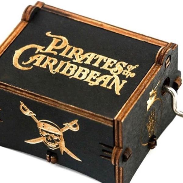 Caixinha de música piratas do caribe