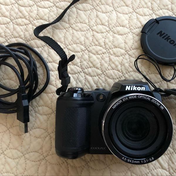 Camera nikon coolpix l120