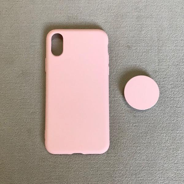 Capinha iphone x/xs rosa
