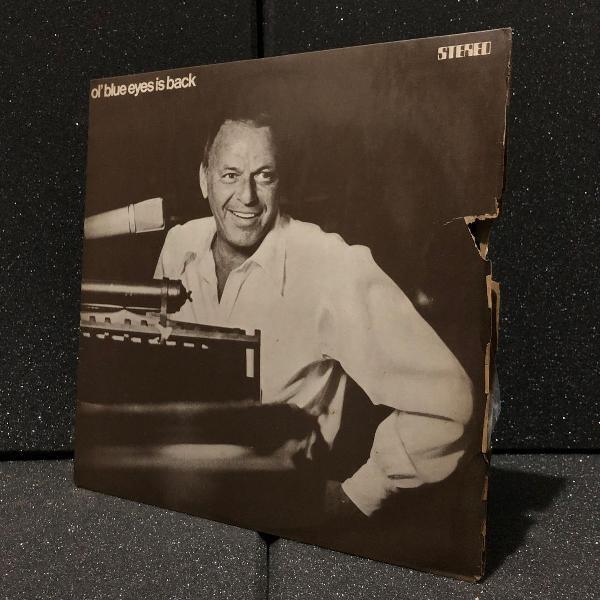 frank sinatra - ol blue eyes is back (1973) | disco vinyl lp