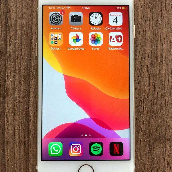 Iphone 6s 32gb branco/rosé