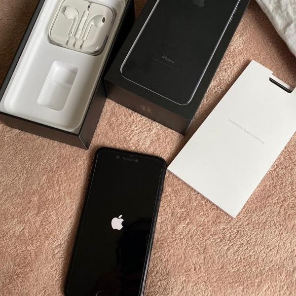 Iphone 7 plus preto 256 gb