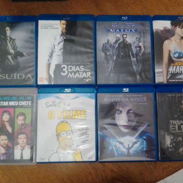 Lote de filmes blu ray originais