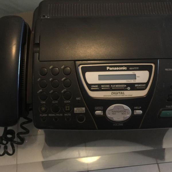 Novíssimo aparelho fax panasonic