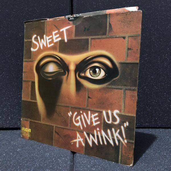 sweet - give us a wink! (1976) | disco vinyl lp