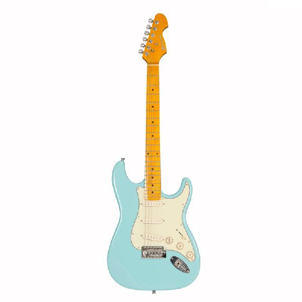 Guitarra strato michael linha stonehenge gm222n lb 6 cordas