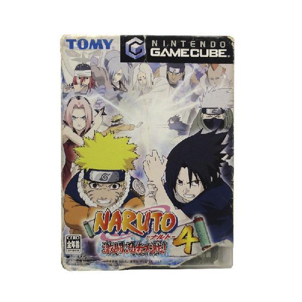 Jogo naruto: gekitou ninja taisen! 4 - gamecube (japonês)