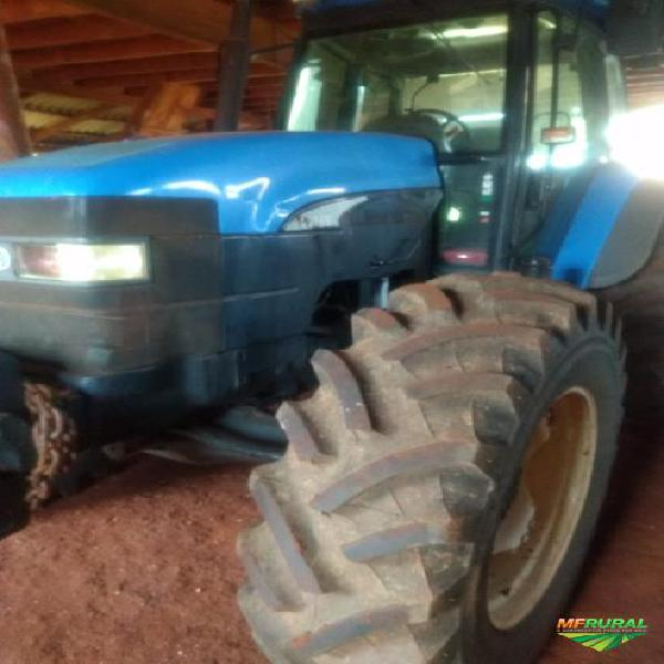 Trator new holland tm 165 4x4 ano 09