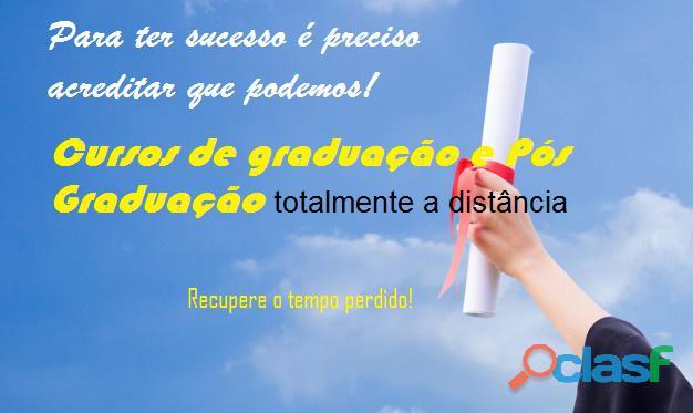 Cursos de Graduação e Pós Graduação Online 1