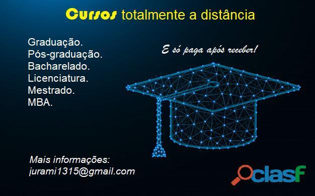 Diploma em graduação a distância