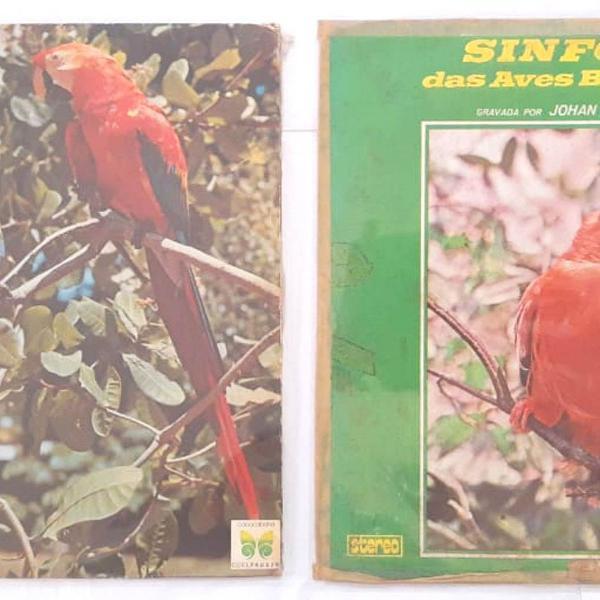 02 lps sinfonias das aves brasileiras - a ave, a selva, a