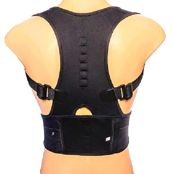 Cinta colete corretor postura coluna cervical lombar regula