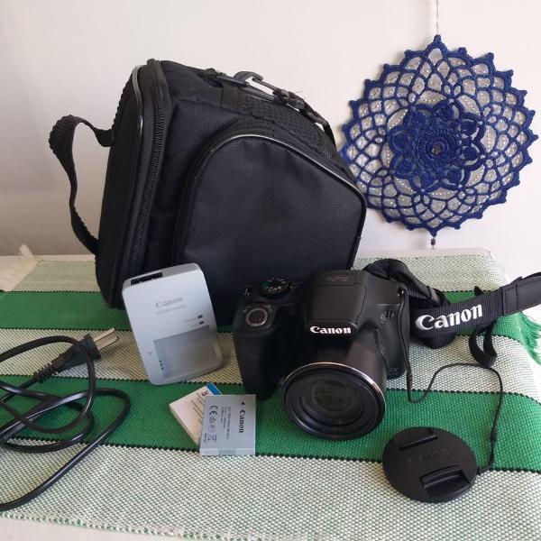 Câmera fotográfica - canon sx 520 hs