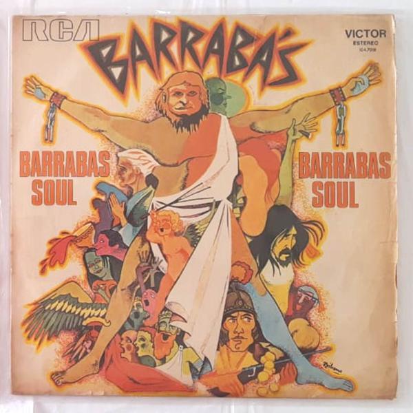 Lp da banda barrabás - original e colecionável