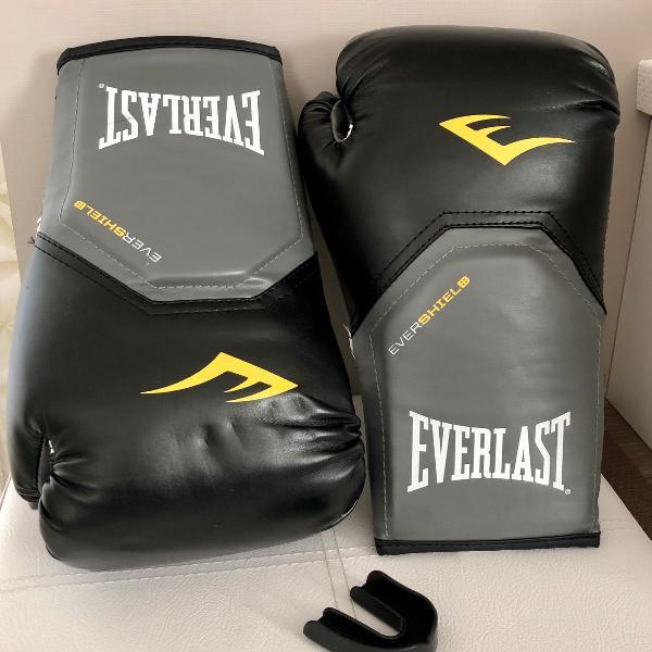 Luvas de boxe everlast pro style elite 14 oz
