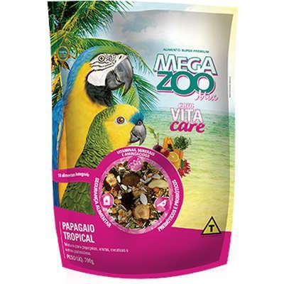 Ração Megazoo Mix Papagaio Tropical