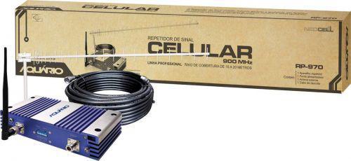 Repetidor De Sinal Celular 70Db 900Mhz Rp-970 Acompanha