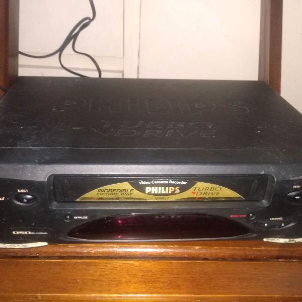 Vídeo cassete philips conserto retirada peças liga no