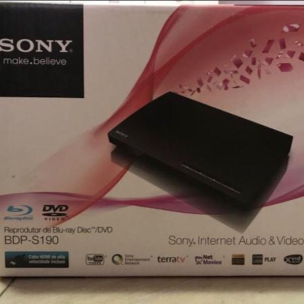 Blu-ray sony bdp-s190