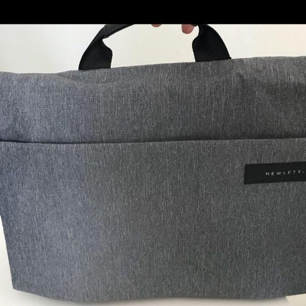 "Bolsa tipo pasta para notebook, (15.6""), preto, cinza"