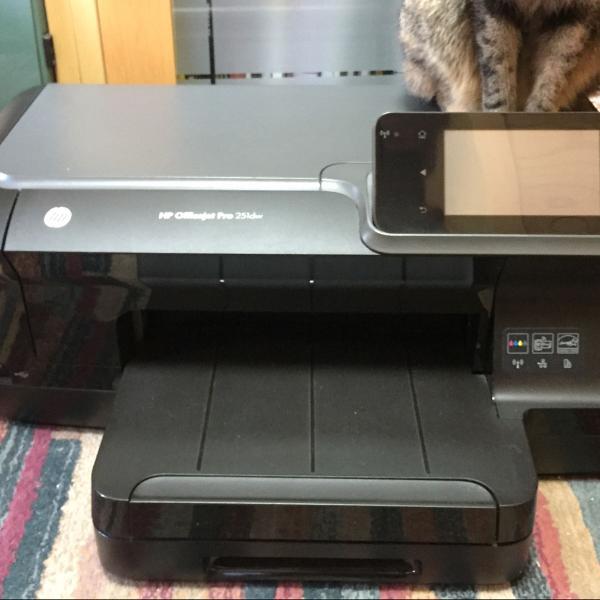 Impressora hp officejet pro 251dw com defeito
