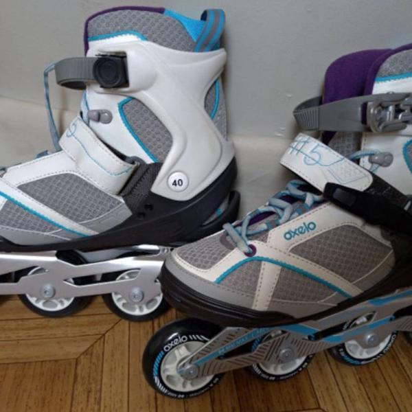 Kit patins feminino