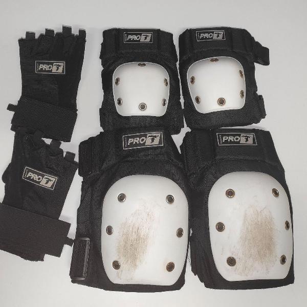 Kit proteção para skate