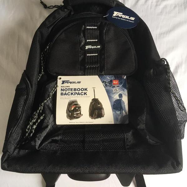 Mochila targus rolling notebook backpack