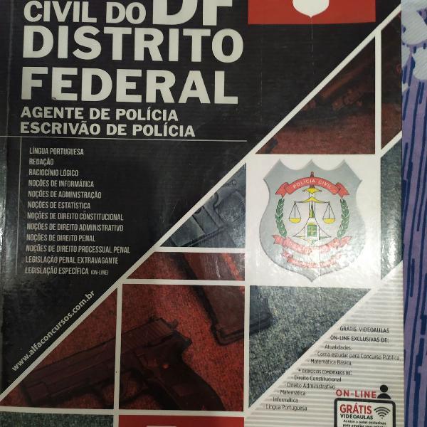 Polícia civil do df apostila