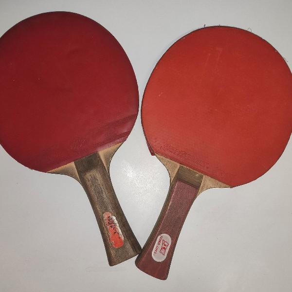 Raquetes tênis de mesa