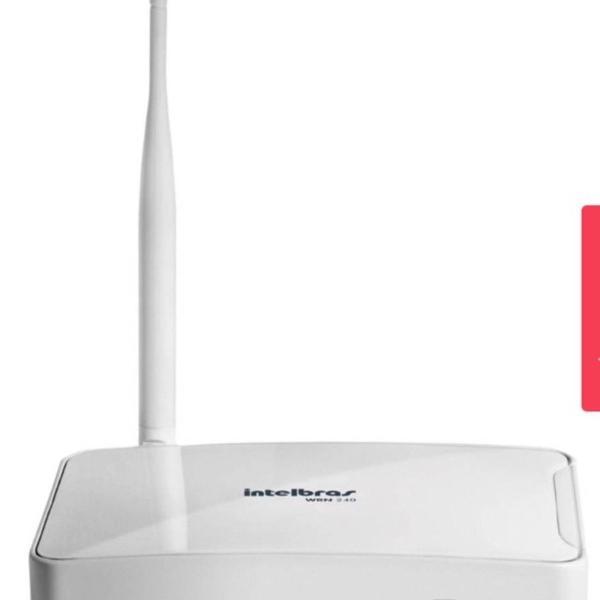 Roteador wireless 150mbps wrn240 intelbras