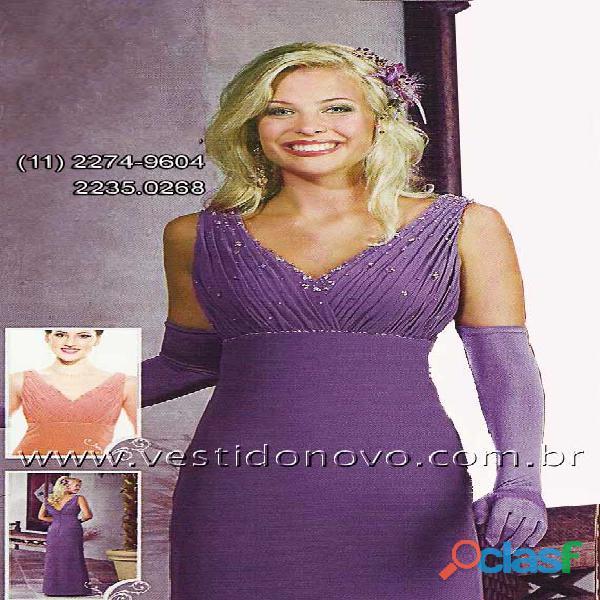 Vestido lilás, mãe de noiva ou mãe de noivo