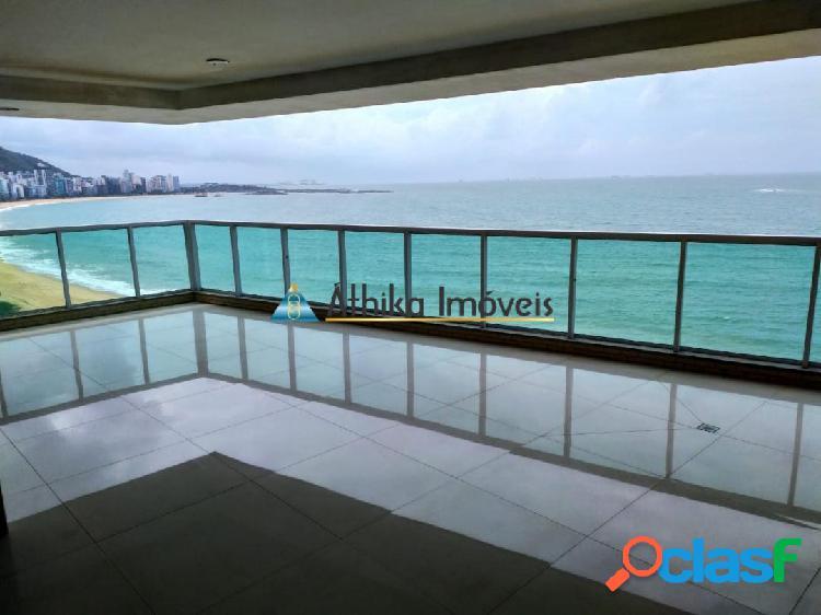 Apartamento 4 quartos frente mar de alto luxo na praia de itapuã