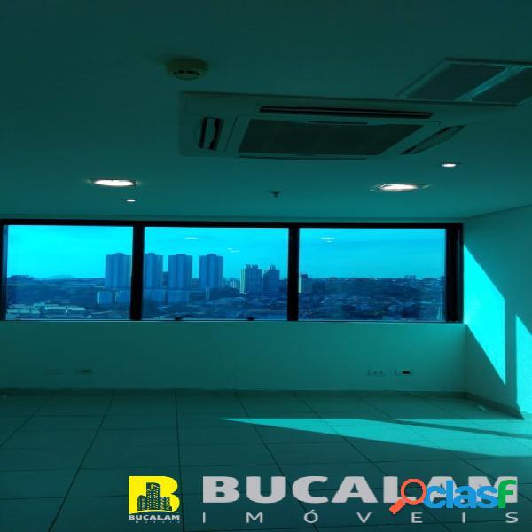 Sala para locação no centro empresarial vida nova