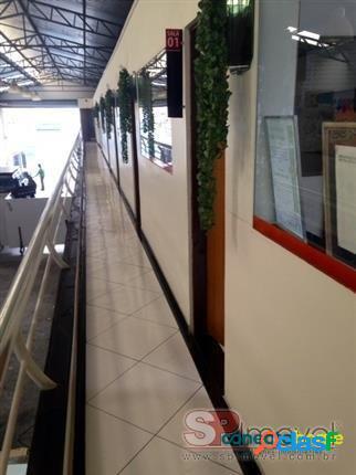 Galpão/pavilhão salão comercial de 750 m² em casa verde média