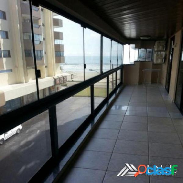 Temporada - itapema - frente mar vista lateral - 2 quartos - churrasqueira