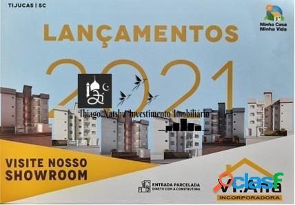 VENDO APARTAMENTO - BAIRRO SANTA LUZIA - CIDADE TIJUCAS/SC - BRASIL