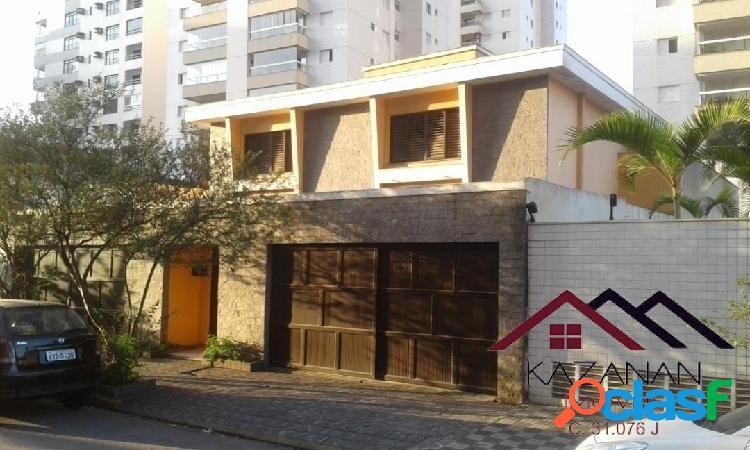 Casa com 05 dormitórios 04 vagas na ponta da praia - santos