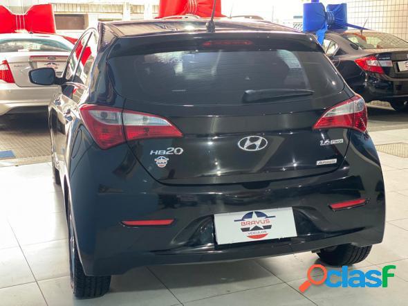 Hyundai hb20s premium 1.6 flex 16v aut. 4p preto 2014 1.6 flex