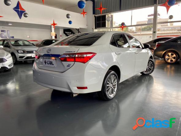 Toyota corolla xei 2.0 flex 16v aut. branco 2016 2.0 flex