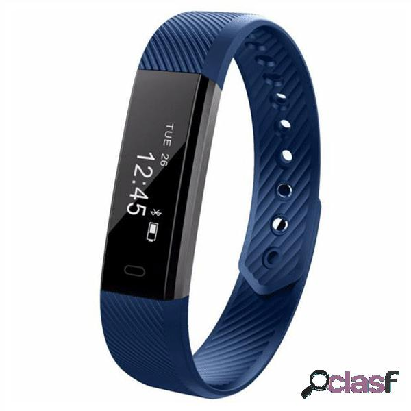 Id115hr relógio inteligente monitor de frequência cardíaca para android ios